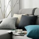抱枕 簡約亞麻抱枕客廳沙發靠墊床頭靠枕椅...