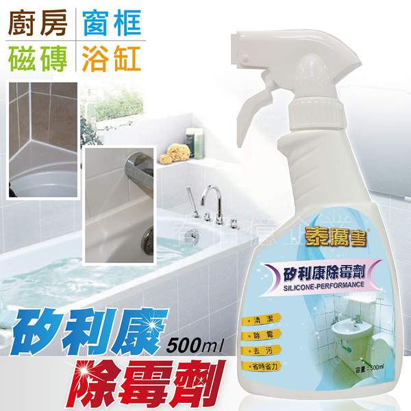 愛家捷泰厲害矽利康除霉劑/除黴劑 大容量(1瓶) 磁磚除霉去污清潔噴劑 浴室洗手台廚房流理台填補
