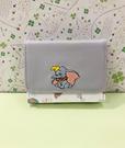 【震撼精品百貨】Dumbo_小飛象~小飛象 DUMBO 刺繡短夾-小飛象藍#04864