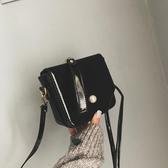 側背包 ins斜挎小質感包包女2020新款韓版休閒網紅小黑包