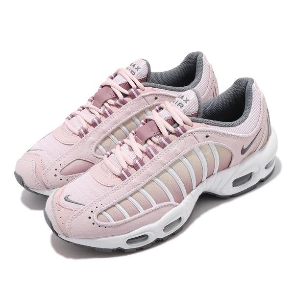 Nike 休閒鞋 Wmns Air Max Tailwind IV 粉紅 灰 氣墊 女鞋 復古慢跑鞋 運動鞋【ACS】 CK2600-600