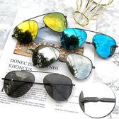 MIT飛行員墨鏡 雷朋細框金屬太陽眼鏡時尚流行駕駛墨鏡不敗款 抗UV400 PC防爆鏡片 檢驗合格