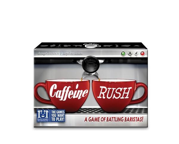 [楷樂國際] 咖啡因狂熱 Caffeine Rush #R&R Games 桌遊
