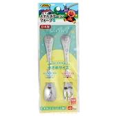 asdfkitty*日本LEC麵包超人大臉星星不鏽鋼湯匙+叉子組-日本製
