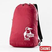 CHUMS 可收納後背包-紅色 【GO WILD】
