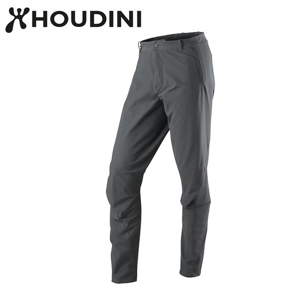瑞典【Houdini】M`s MTM Thrill Twill Pants 男快乾立體剪裁長褲 岩石黑  297144