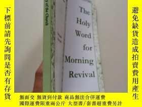 二手書博民逛書店The罕見Holy World For Morning Revi