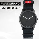 "Hypergrand新加坡設計師品牌01基本款系列""LO-FI""SNOWBEAT 電子雪奏腕錶NW01SN0W公司貨"