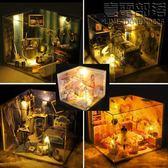 公主娃娃屋兒童過家家玩具女別墅模型仿真迷你小房子小屋手工制作