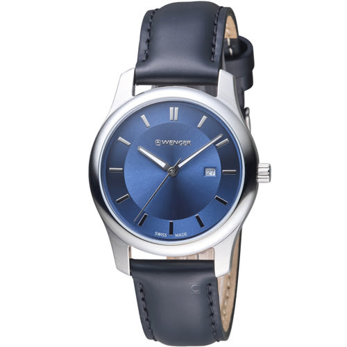 瑞士WENGER City 城市系列 經典簡約時尚腕錶 01.1421.112
