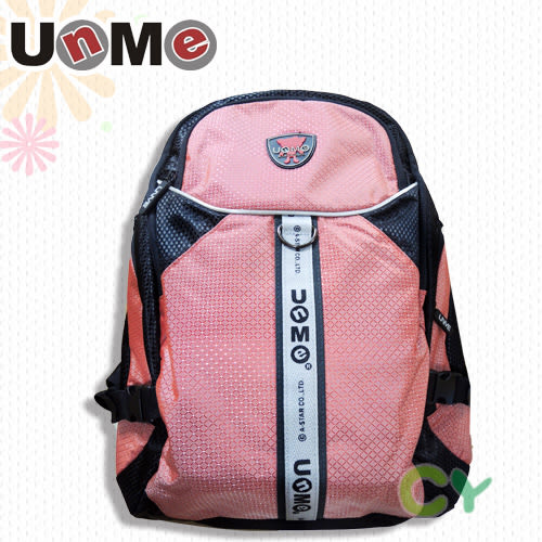 【UnMe】網袋休閒後背包 粉紅色 3220-P (OS shop)