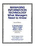 二手書博民逛書店《Managing Information Technology: What Managers Need to Know》 R2Y ISBN:0023767510