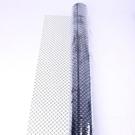 [2玉山網] PVC防靜電網格簾 黑色防靜電網格簾防靜電簾透明軟門簾 1.37米*25米*0.3透明網格
