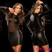 情趣用品 滿額送潤滑液 情趣睡衣 百變嬌娃 性感美胸 性感彈力緊身裙 AD607