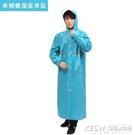 成人徒步男女韓國時尚防水騎行雨披加長加厚戶外全身連體戶外『新佰數位屋』