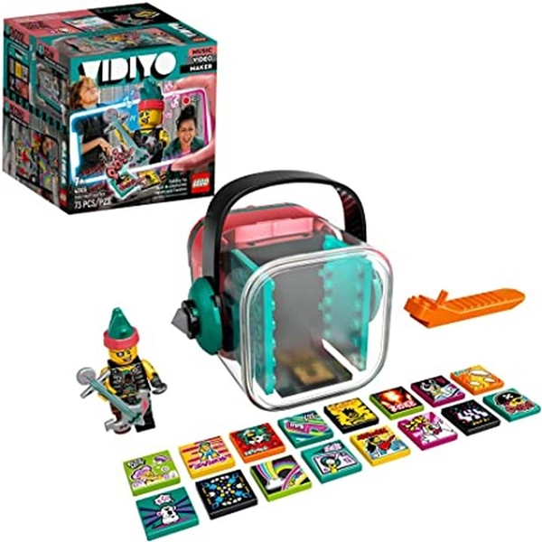 LEGO 樂高 VIDIYO Punk Pirate Beatbox 43103 Building Kit with Minifigure (73 Pieces)