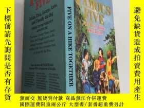 二手書博民逛書店the罕見famous five five on a hike together 著名的五五同遊Y200392