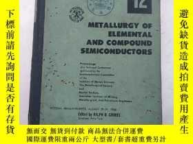 二手書博民逛書店metallurgy罕見of elemental and com