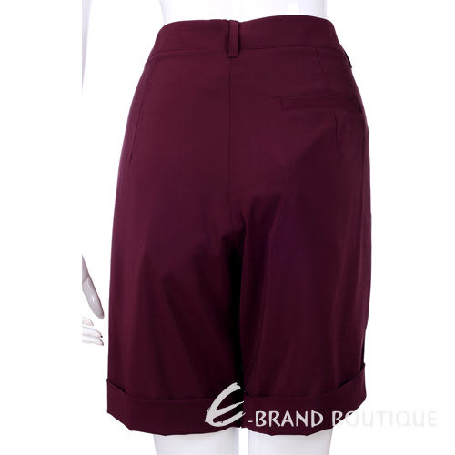 I'm Isola Marras深紫色 藝術印花設計短褲 1320011-04