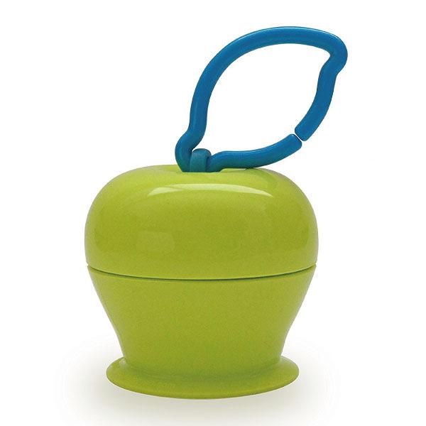 美國 Grapple 矽膠創意小物 三爪玩具俏吸盤-青蘋果