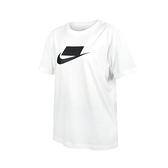 NIKE 女短袖T恤(純棉 慢跑 休閒 上衣≡體院≡ DB9828-100