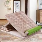 拉筋板實木斜踏板站立拉筋神器純橡木家用小腿抻筋康復瘦腿摺疊凳 3C優購