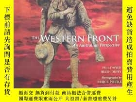 二手書博民逛書店the罕見Western Front an australian