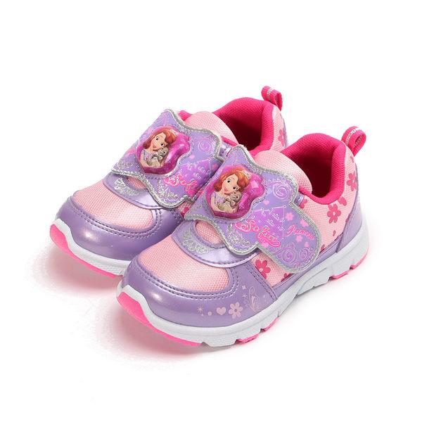 蘇菲亞公主 櫻花電燈鞋 紫 SOKB77607 中童