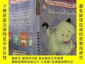 二手書博民逛書店Cuddle罕見the cutest kitten School of Spells:擁抱最可愛的小貓魔法學校