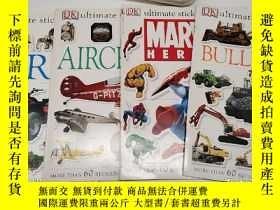 二手書博民逛書店ultimate罕見sticker book BULLDOZER MARVEL HEROES AIRCRAFT F