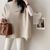 韓國斗篷毛衣披風外套針織衫