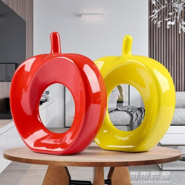 【平平安安】家居裝飾品/陶瓷工藝品擺件/廠商直銷 五色可選 可可鞋櫃