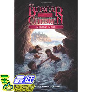 [106美國直購] 2017美國暢銷兒童書 Surprise Island (The Boxcar Children Mysteries) Paperback