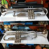 【非凡樂器】二手商品 YAMAHA YTR-1335S / 鍍銀Bb調小號 / 9成新