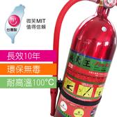 MIT認證(滅火王)3000cc台灣製環保無毒 車用滅火器 居家滅火器 消防 滅火 鋁合金瓶身 泡沫滅火器