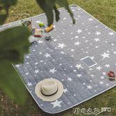 現貨 野餐墊 野炊地墊防水草坪墊子加厚可水洗便攜野餐布 小情侶170*200 9-12