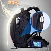 專業佳能尼康雙肩攝影背包戶外旅行單反相機雙肩包防水防盜大容量 WD科炫數位旗艦店