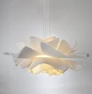 吊燈 燈 臥室吊燈網紅ins少女心房間燈飾北歐創意花朵吊燈設計師款餐廳燈DH033