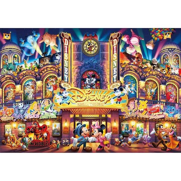 Tenyo拼圖 1000閃亮片 迪士尼夢幻劇院_BF94410