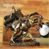 古希臘角鬥士盔甲模型羅馬擺件家居飾品工藝品PL130【男人與流行】