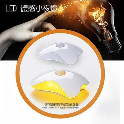 LED小夜燈 床頭燈 嬰兒房燈 樓梯燈 開關燈【BC0012】 充電式時尚創意家居體感 光控