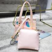 包包女2020春夏新款潮透明女包斜背果凍包鐳射小ck手提包ins超火 唯伊時尚