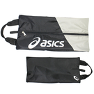 (B3) ASICS 亞瑟士 鞋袋 手提包 透氣 台灣製 Y12001-90 黑 [陽光樂活]