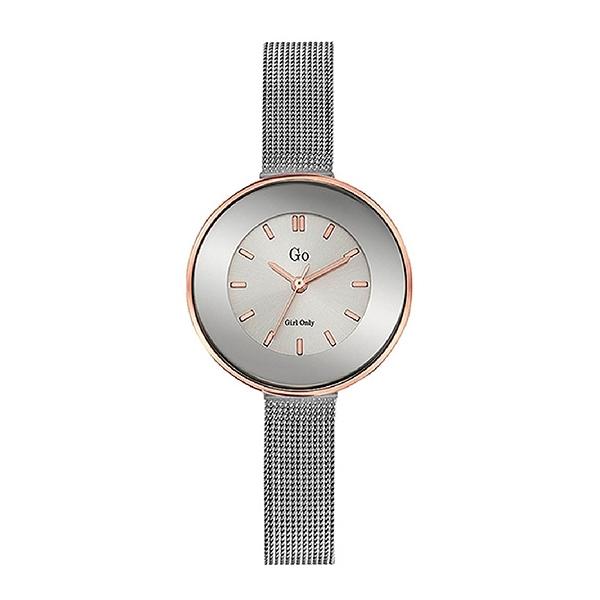 【Go Girl Only】純真系列法國簡約米蘭腕錶-質感灰/695125/台灣總代理公司貨享兩年保固