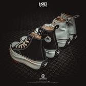 IMPACT Converse Run Star Hike 黑 白 鋸齒鞋 厚底 非聯名 166799C 166800C