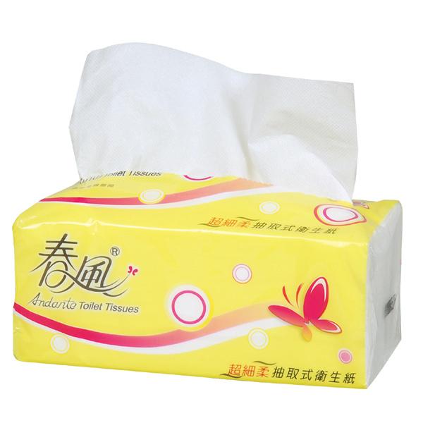 **好幫手生活雜鋪** 春風抽取式衛生紙 110抽 12包 6袋 / 箱 ------衛生紙.濕紙巾.擦手紙.捲筒紙