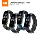 小米手環5/6通用 迷彩系列錶帶 小米手環5/6代替換錶帶 智能手環螢幕顯示替換腕帶 防丟設計