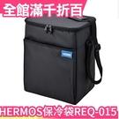 日本 THERMOS 膳魔師 5層斷熱保冷袋 大容量 保冷袋 REQ-015 保冰食物飲料保冷 露營外出【小福部屋】
