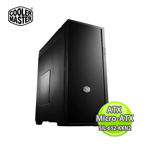 Cooler Master 酷媽 Silencio 652S ATX / Micro-ATX 靜音機殼 SIL-652-KKN2