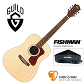 Guild吉他 美國經典品牌 Guild D-240E 可插電面單板吉他(標準D桶身)Fishman拾音器